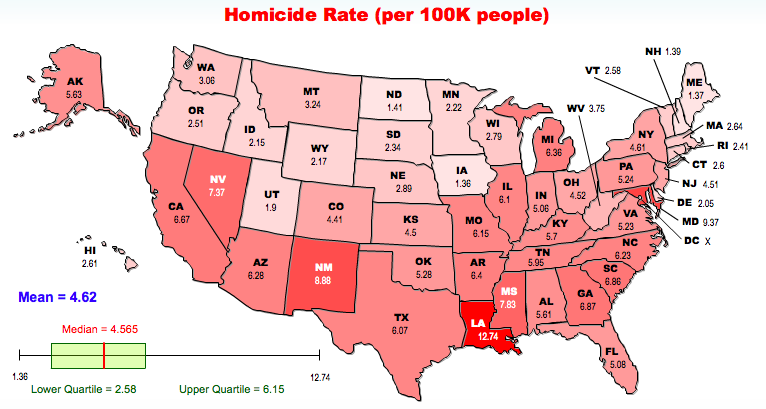 Homicide Map US
